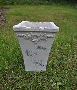KUHEIGA Wunderschöner Blumentopf Höhe:18cm Vasenform, mit Verzierung