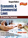 Pooja Law Publishing's Economic and Commercial Laws for CS Executive June 2018 Exam by Sangeet Kedia