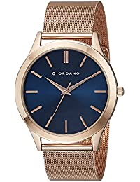 Giordano Analog Blue Dial Men's Watch - A1051-33