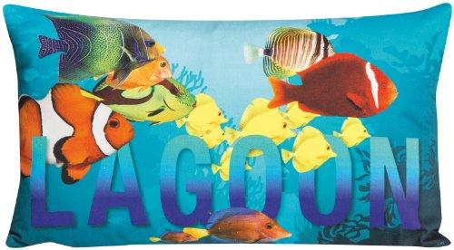 MAGMA Kissen Dschungelfieber (Lagoon) ca. 30x50 cm aus der Serie