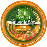 John West Untables Atún Mexicano 80g (Paquete de 6)