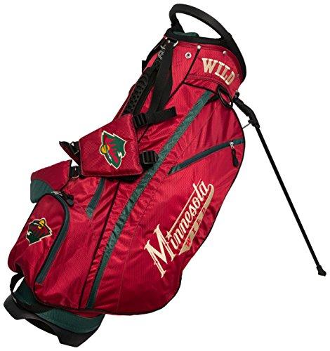 Team Golf NHL Fairway Golftasche, leicht, 14-Wege-Top, Feder-Action-Ständer, isolierte Kühltasche, gepolsterter Gurt, Schirmhalter und abnehmbare Regenhaube, Herren, Multi -