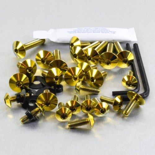 1000 Rf Kit (Titanium Fairing Kit RSV 1000 Tuono RF 02-08 Gold)
