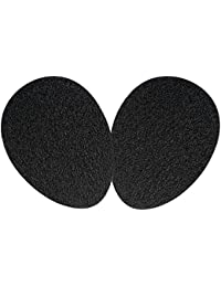 SOUMIT High Heel Protector - Self-Adhesive Rubber Sole Cover, Non-slip Shoe Support Pads for Stilettos/ Sandals/ Boots (1 Pair, Men & Women)