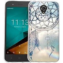 Dooki, Smart Prime 7 Funda, Delgado Suave Silicona TPU Protectore Teléfono Cubierta Caso Carcasa Para Vodafone Smart Prime 7 (A-1)