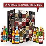 Adventskalender mit 24 Bieren aus aller Welt | Adventskalender als Geschenk für Männer I Weihnachtskalender für Väter, Väter und alle Bierfreunde