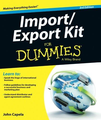 Import/Export Kit FD 3E (For Dummies)