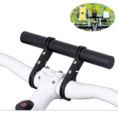 Homeet Vélo Guidon Extension Fixation Rallonge de Tube 20CM en Alliage d