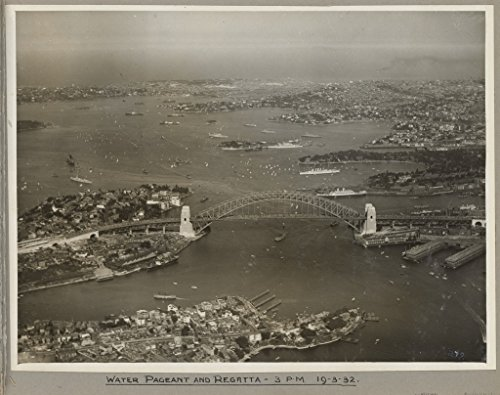 poster-water-pageant-regatta-sydney-harbour-bridge-19-march-1932-australia-wall-art-print-a3-replica