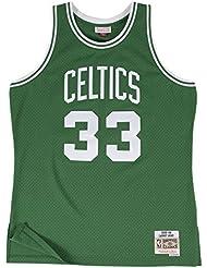 Mitchell & Ness - Maillot NBA swingman Larry Bird Boston Celtics Hardwood Classics Mitchell & ness Vert taille - M