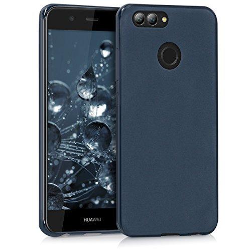 kwmobile Huawei Nova 2 Hülle - Handyhülle für Huawei Nova 2 - Handy Case in Dunkelblau matt