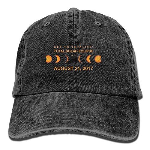 2017 Vintage Washed Dyed Adjustable Plain Cowboy Cap ()