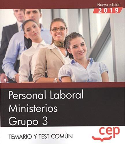 PERSONAL LABORAL DE MINISTERIOS