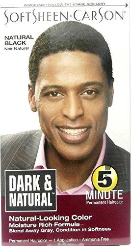 Softsheen Carson Dark & Natural Permanent Haircolor 1 Application Natural Black