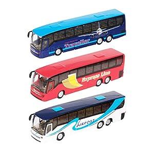 Teamsterz 1370246 Autobús Die Cast Rueda Libre