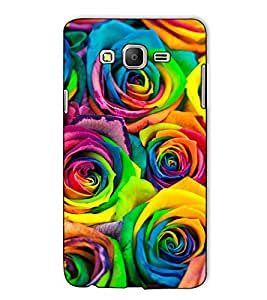 Fuson Designer Back Case Cover for Samsung Galaxy On5 (2015) :: Samsung Galaxy On 5 G500Fy (2015) (The colourful roses theme)