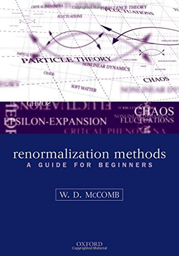 Renormalization Methods: A Guide For Beginners by William David McComb (2003-12-11)