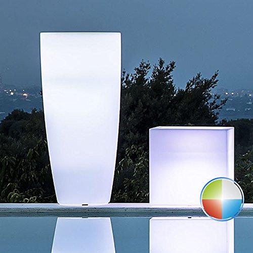 Jarrón redondo 'capacitivo Lamp' con luz interior. De polietileno Multicolor. Dal diseño elegante de puro estilo moderno, es un excelente complemento D Muebles y si abbina a múltiples habitaciones Nei Quali viene collocato.