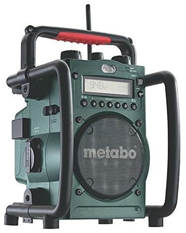 Metabo 602106000 Radio de chantier RC 14.4-18 (Import Allemagne)