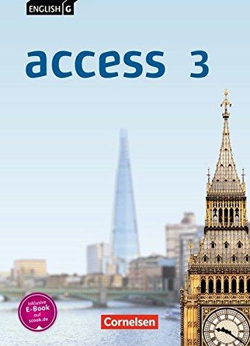 English G Access - Allgemeine Ausgabe: Band 3: 7. Schuljahr - Schülerbuch: Festeinband