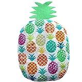 """Sacca termica per alleviare le coliche nei neonati """"Ananas"""" - contiene 125 g di noccioli di ciliegia - Per alleviare coliche, dolori addominali dei bambini – 19x11cm - 100% cotone"""