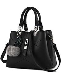 Young   Ming - Femme Sacs en Cuir Handbag Totes Sacs menotte Sacs portés  épaule Avec 38cda8fc1e8