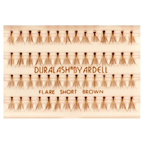 (3 Pack) ARDELL DuraLash Flare Lashes - Flare Short Brown