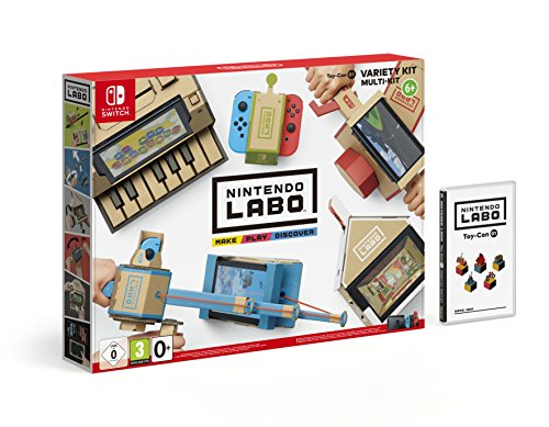 Switch Nintendo Labo: Toy-Con 01 - Kit variado (precio: 64,90€)