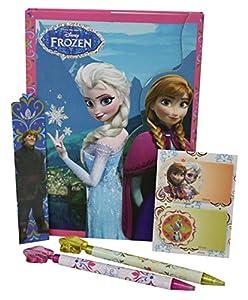 Disney Frozen  - Glitter, Agenda con Accesorios, Color Rosa, Verde y Morado  (Cife 86605)