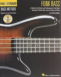Hal Leonard Bass Method Funk Bass + CD