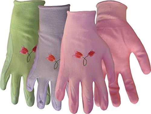 Boss Gloves vasto assortimento di colori in nylon lavorato a maglia con guanti in nitrile 8429L