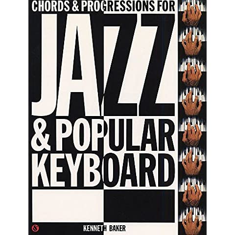 Chords And Progressions for Jazz And Popular Keyb. - Buch