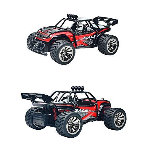 RC Auto kaufen Truggy Bild 2: VATOS Ferngesteuertes Auto, Maßstab 1:16, 2,4 Ghz, Rennwagen, Rennrad-Crawler, Schwarz*