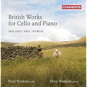 British Works for Cello & Piano, Vol. 2