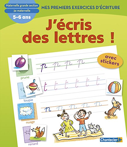 J'écris des lettres ! Maternelle Grande section par ZNU