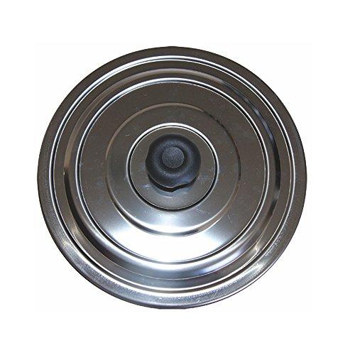 MISTERMOBY TAPPO PER ISPEZIONE IN ACCIAIO INOX PER TUBO / TUBI CANNA FUMARIA DA 250 MM