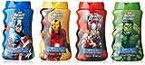 Marvel Avengers Assemble BATH & SHOWER GEL Gift Set (4 x 75ml)