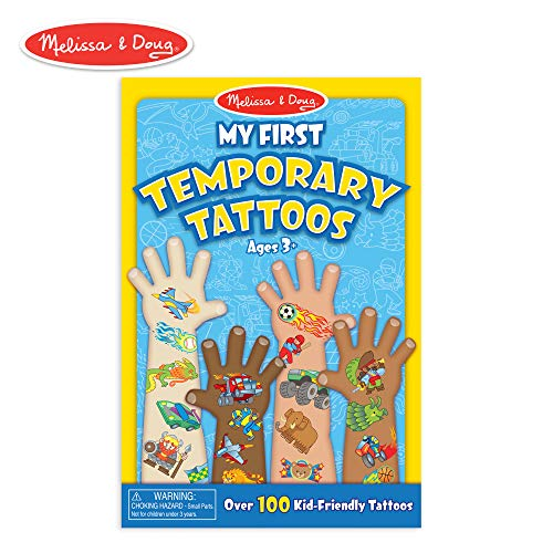My First Temporary Tattoos - Blue: My First Temporary Tattoos - Blue