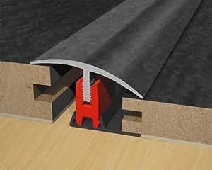 Clip Threshold Strip Grey Slate Effect 900mm Amazon Co Uk