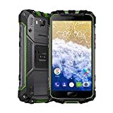 Ulefone Armor 2S Outdoor Smartphone ohne Vertrag (5 Zoll FHD Display mit Corning Glas 3, Quad-Core Prosessor, 2GB RAM+16GB ROM, 13MP+8MP Wassdichte Kameras, IP68-Zertifizierung, Dual-SIM (Nano), Android 7.0) (Armor 2s Grün)