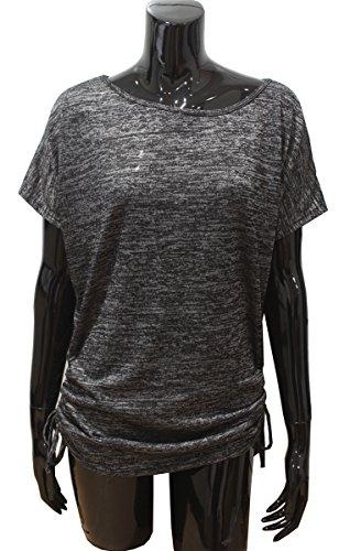Emma & Giovanni - T-shirt Manche Courte - Femme Noir
