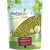 Food to Live Frijoles mung orgánicos certificados (germinados, No OMG, a granel) 453 gramos