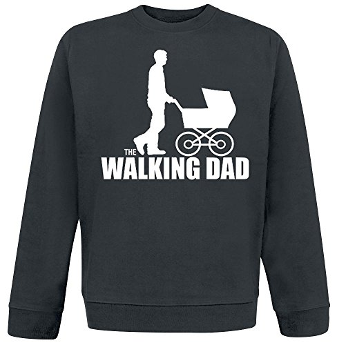 The Walking Dad Sweat-Shirt schwarz Schwarz
