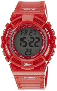 Zoop Digital Grey Dial Children's Watch -NKC4040PP02