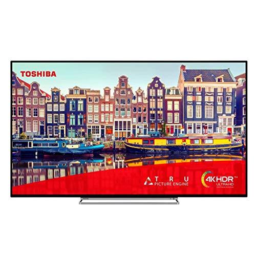 Toshiba 50VL5A63DB 50 Inch Smart 4K Ultra HD HDR LED TV Freeview HD (Refurbished)