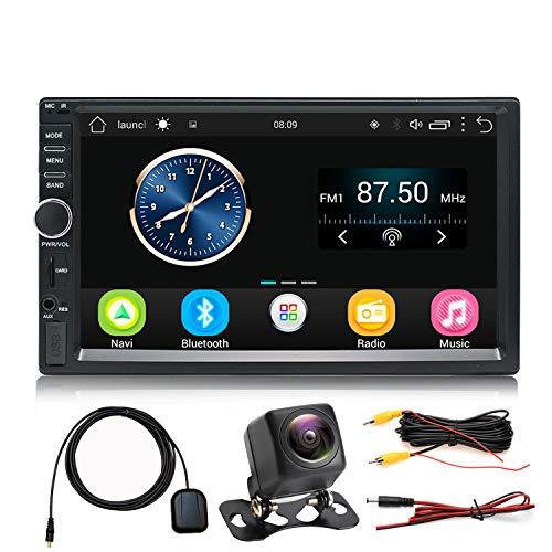 Panlelo S1+NV Autoradio con Touch Screen DIN Full HD da 2 trattini, Android  Touchscreen, telecamera, navigazione GPS, Car Stereo, Quad Core 1 GB+16