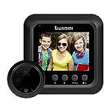 PRETTYGOOD7spioncino digitale telecamera 6,1cm Smart wireless Night Vision campanello