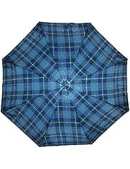 Parapluie parapluie mONOPOL 9486 (bleu à carreaux)