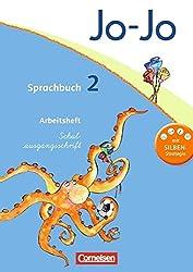 Jo-Jo Sprachbuch - Aktuelle allgemeine Ausgabe: 2. Schuljahr - Arbeitsheft in Schulausgangsschrift