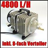 HAILEA ACO-388D Luftkompressor Durchlüfter Luftpumpe Kolbenkompressor ACO 388 D